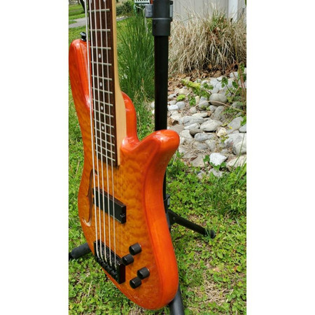 Spector SpectorCore 5 Electric Bass Guitar, angle view