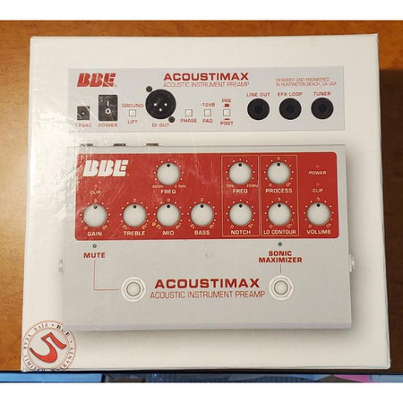 Acousticmax Acoustic Instrument Preamplifier - original box