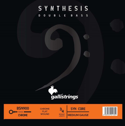 Synthesis Double Bass BSN900 Synthetic and Chrome String Set