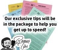 Includes our exclusive Gollihur Music tipsheet to get the most out of your purchase