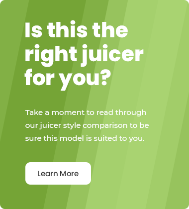Is this the right juicer for you?