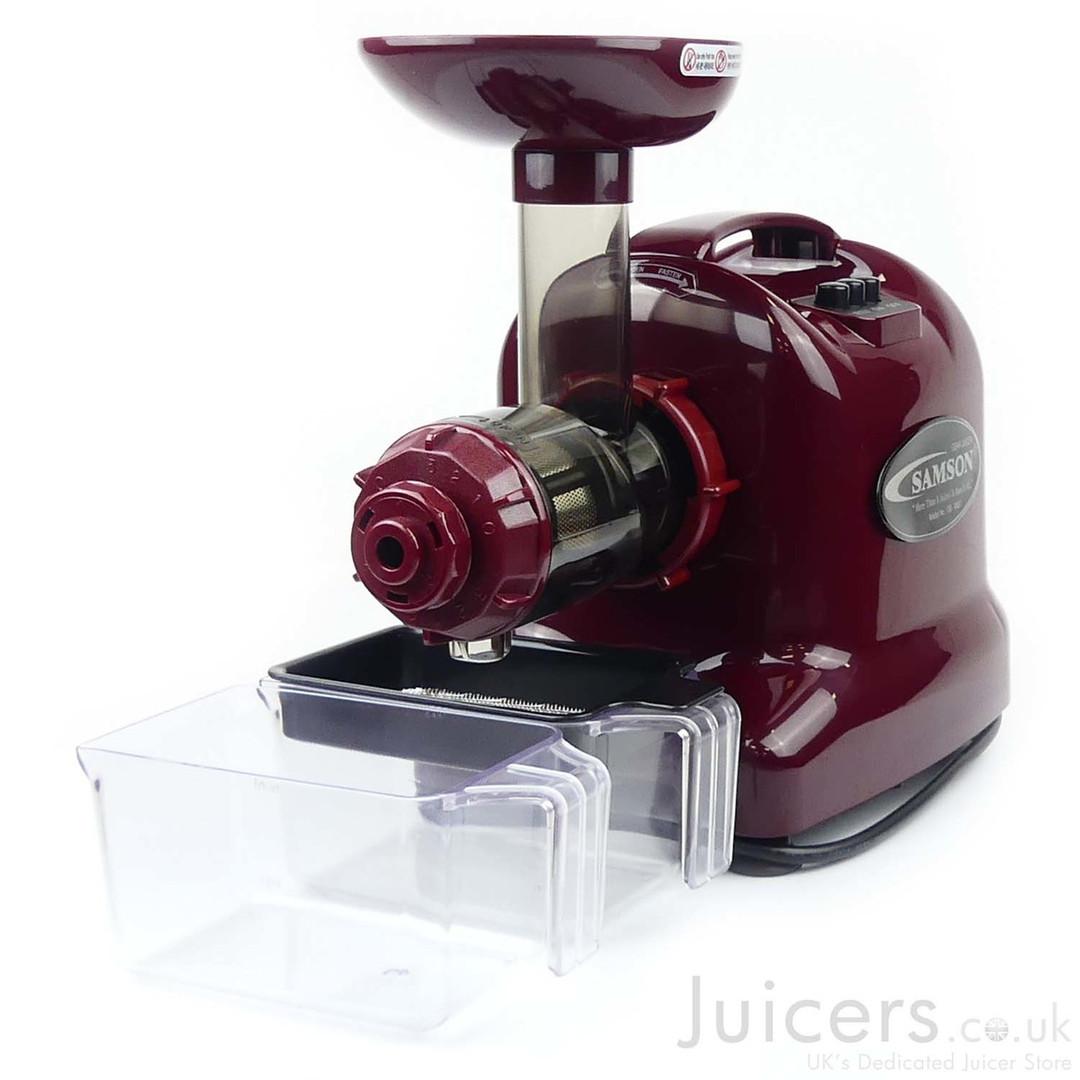 Samson Advanced Juicer 9007 Burgundy