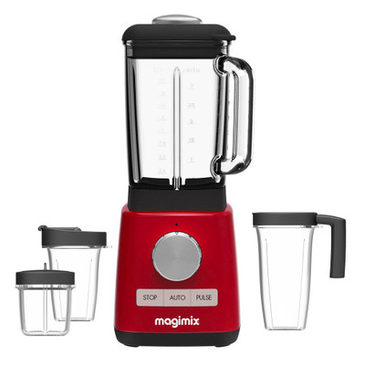 Magimix Power Blender Premium in Red
