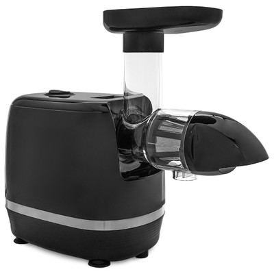 Omega H3000D Horizontal Slow Juicer in Black