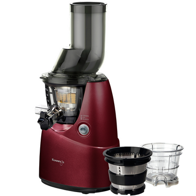 Kuvings Whole Slow Juicer B6000PR in Red with Accessory Pack