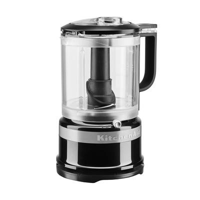 KitchenAid 5KFC0516BOB 1.2-Litre Food Processor in Onyx Black