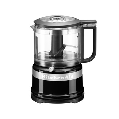 KitchenAid 5KFC3516BOB Mini Food Chopper in Onyx Black