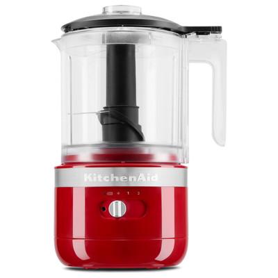 KitchenAid 5KFCB519BER 1.2-Litre Cordless Food Processor in Empire Red