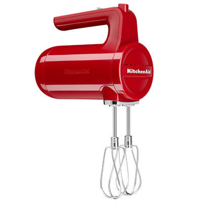 KitchenAid 5KHMB732BER Cordless Hand Mixer in Empire Red