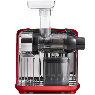 Omega CUBE300 Horizontal Juicer in Red