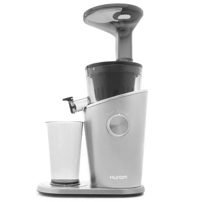 Hurom H100 Vertical Slow Juicer in Silver