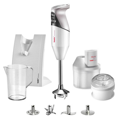 Bamix Superbox Hand Blender in White