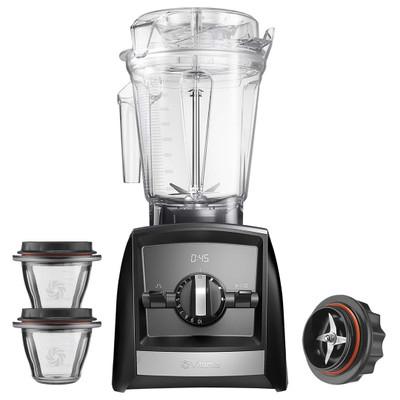 Vitamix Ascent 2500i Blender in Black with 225ml Bowl Starter Kit