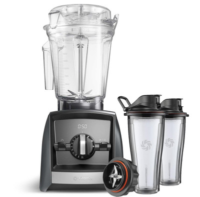 Vitamix Ascent 2500i Series Blender in Grey with 600ml Blending Cup Starter Kit