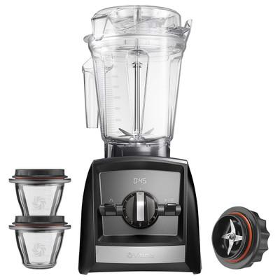 Vitamix Ascent 2300i Blender in Black with 225ml Bowl Starter Kit