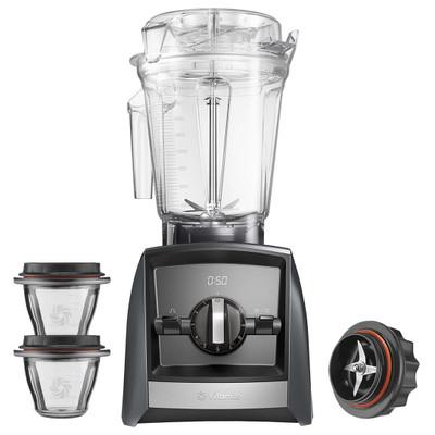 Vitamix Ascent 2300i Blender in Grey with 225ml Bowl Starter Kit