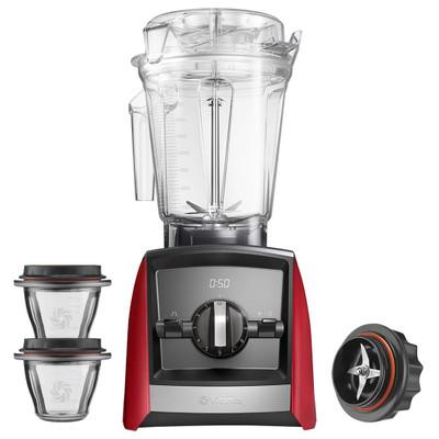 Vitamix Ascent 2300i Blender in Red with 225ml Bowl Starter Kit