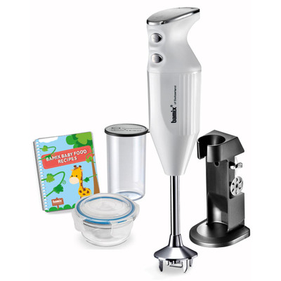 The Bamix Babyline Hand Blender