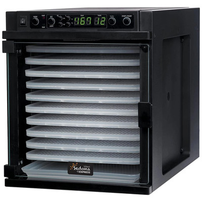 Sedona SD-P6280 Express 11-Tray Dehydrator in Black