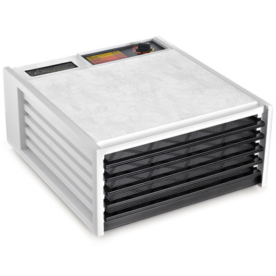 Excalibur 4500W 5-Tray Dehydrator in White