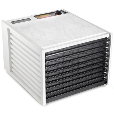 Excalibur 4900W 9-Tray Food Dehydrator in White