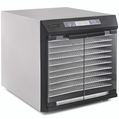 Excalibur EXC10EL 10-Tray Stainless Steel Dehydrator with Timer
