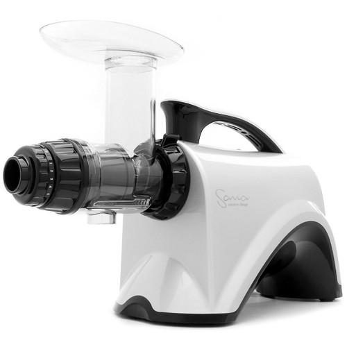 Omega Sana EUJ-606 Horizontal Slow Juicer in Silver