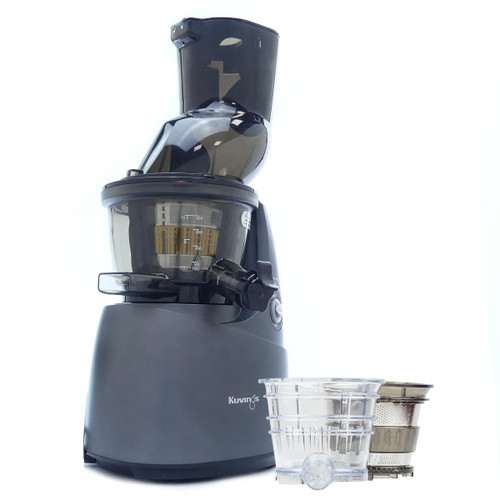 Kuvings B8200 Whole Fruit Juicer in Gunmetal with Accessories