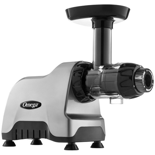 Omega CNC80HD Slow Juicer and Nutrition Centre in Silver