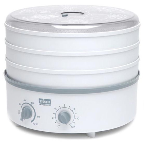 Stockli 3 Tray Stackable Dehydrator with Timer