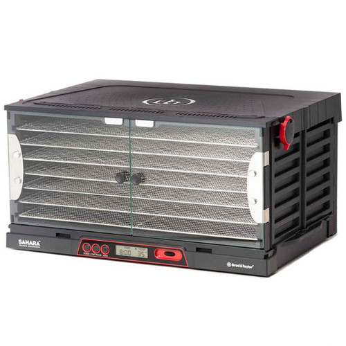 Brod & Taylor Sahara 7-Tray Folding Dehydrator in Black