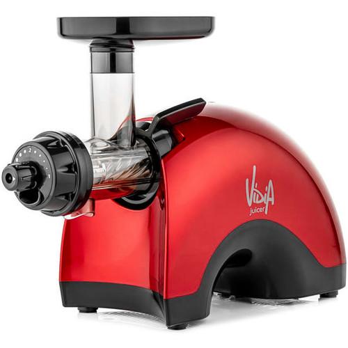 Vidia VTG-001 Twin Gear Slow Juicer in Red