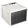 Excalibur 4926TW 9-Tray Dehydrator with Timer in White