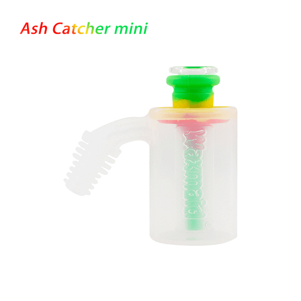 14mm - 18mm Male 45 Degree Mini Ash Catcher Silicone by Waxmaid