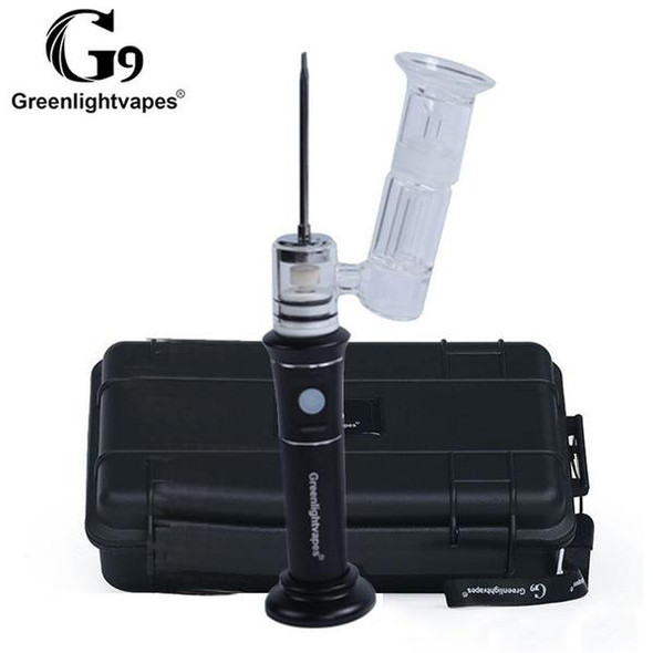 G9 Henail Plus Portable E-Nail Vaporizer - Black
