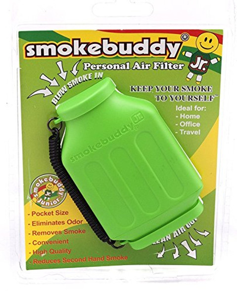 SmokeBuddy Jr Personal Smoke Air Filter - Lime Green