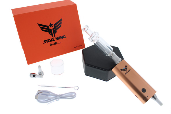 Star Wing 10mm E-Nectar Collector 2 in 1 (E-NC) Gold