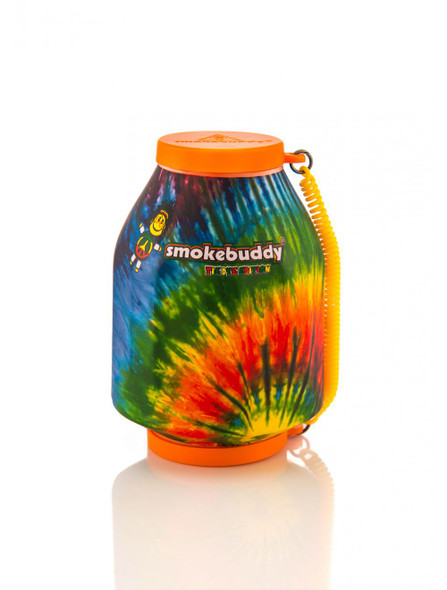 The Original SmokeBuddy Personal Air Odor Purifier Cleaner Filter with Keychain -  Tie Dye
