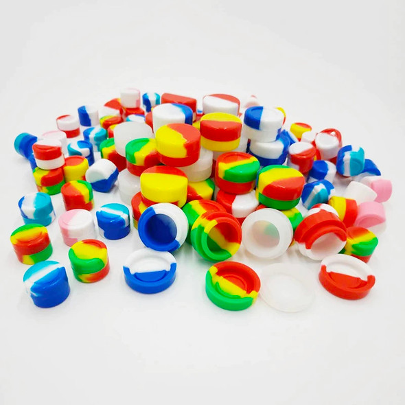 Silicone Jar 3ml Assorted Colors