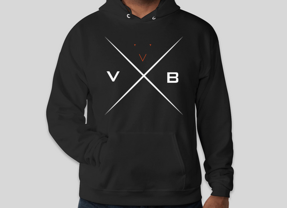 VapeBrat X Design Hooded Sweat Shirt - Large
