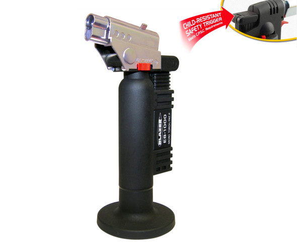 Blazer - ES 1000 Spitfire Torch with Child Safety Lock Black