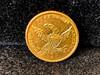 $5 Gold Piece 1836 Classic Head 1/2 Eagle U.S.