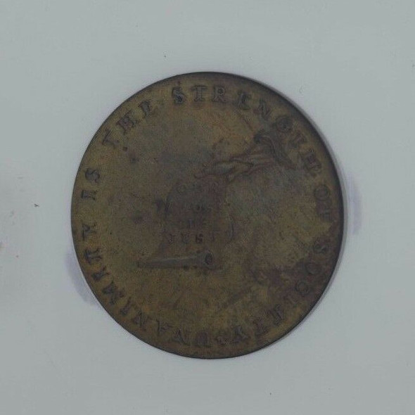 1792 Plain Edge Token Kentucky NGC MS 62 BN