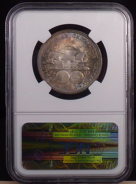 1892 Columbian Exposition Commemorative Half Dollar NGC MS-66