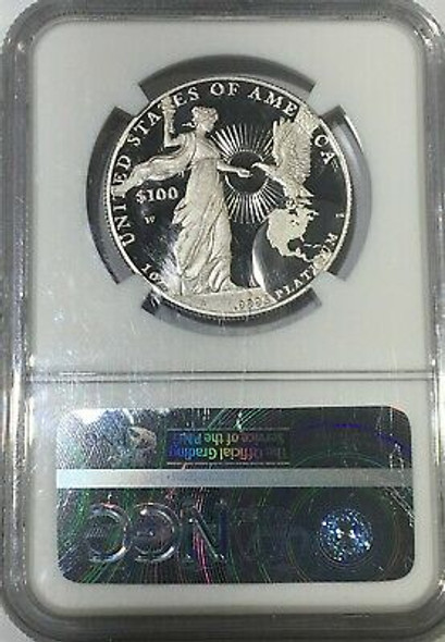 2015-W 1 oz Proof Platinum American Eagle NGC PF-70 Ultra Cameo Early Release