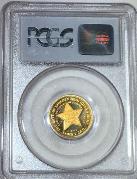 2002 Liberia $40 Gold, Stella Type 2 PCGS PR69DCAM