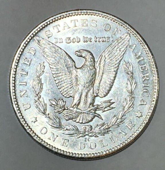 1891 CC Morgan Silver Dollar