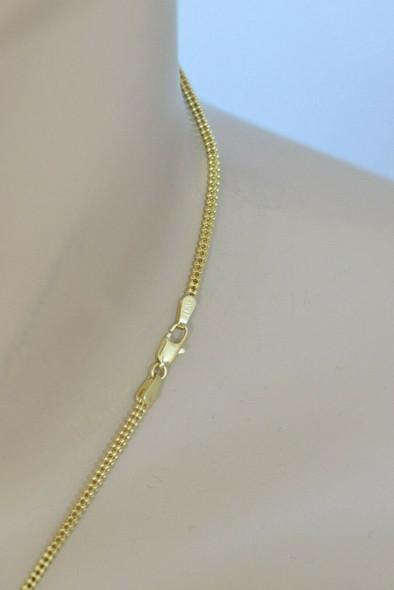 Asch Grossbardt 14K Tiger Eye Black Onyx and Diamond Pendant on Chain, 1970's