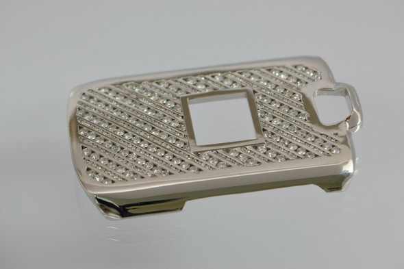 18K WG Diamond Set Flip Phone Cover Super Quality!, 15ct tw. Custom Made