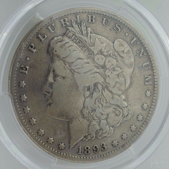 1893-S Morgan Silver Dollar PCGS VG-08